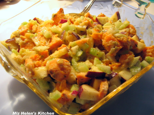 Sweet Potato Salad at Miz Helen's Country Cottage