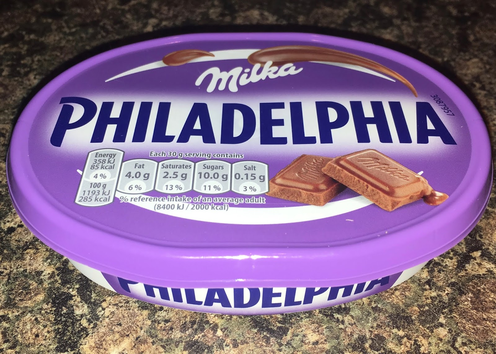 Foodstuff Finds Philadelphia Milka Chocolate Asda By At Cinabar