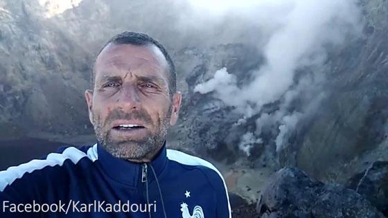 Karl Kaddouri, Bule Yang Menerobos Zona Bahaya Gunung Agung