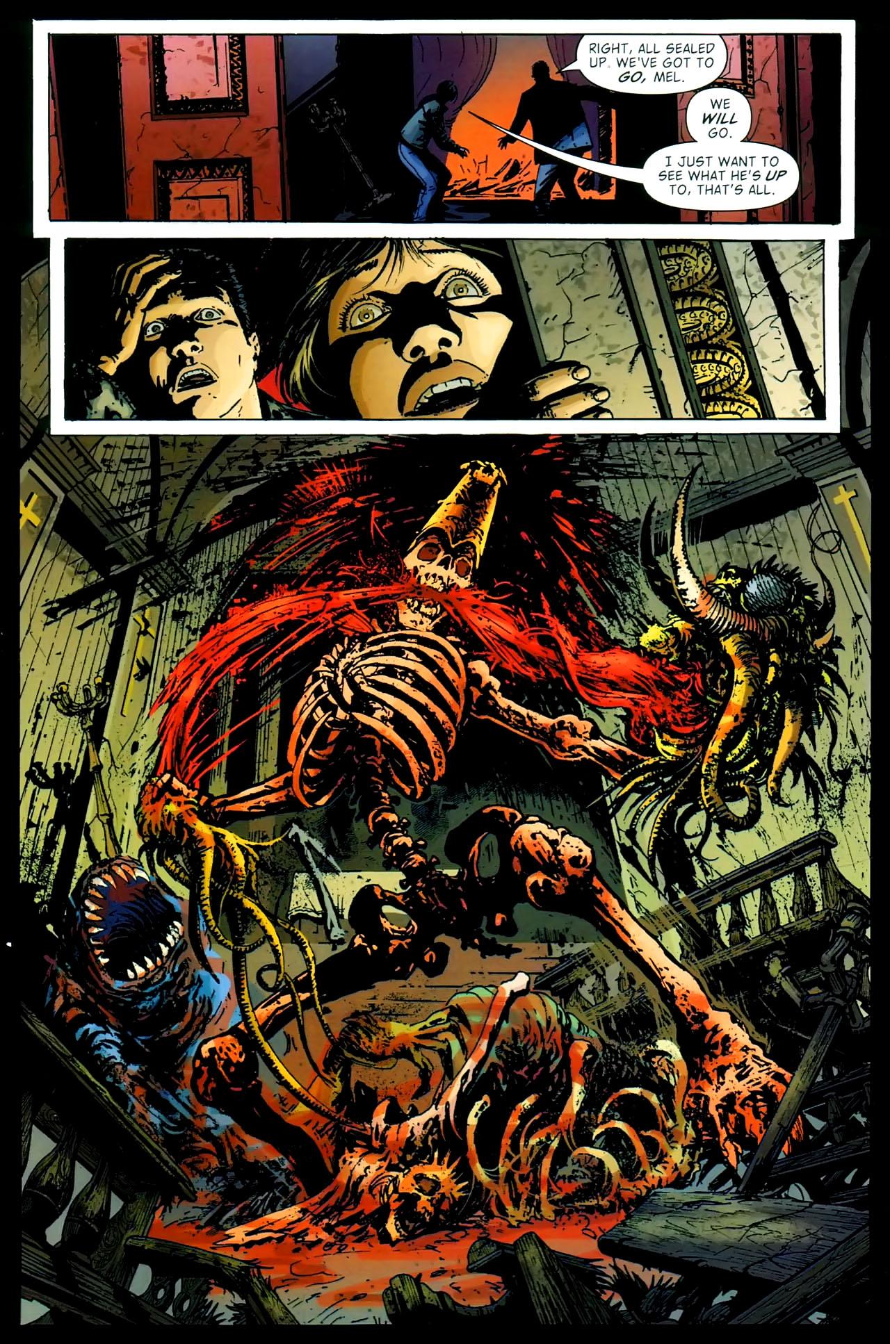 Read online John Constantine Hellblazer: All His Engines comic -  Issue # Full - 82