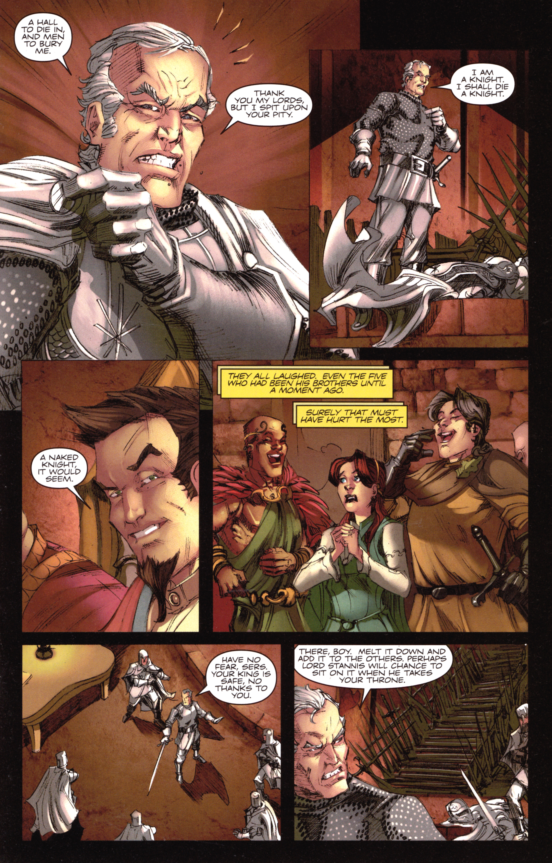 Read online A Game Of Thrones comic -  Issue #18 - 19