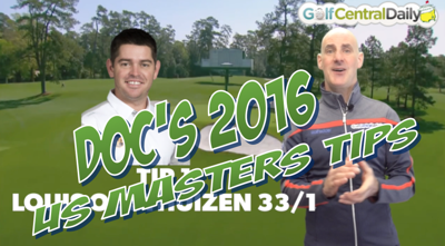 2016 US Masters Power rankings