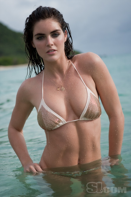 Hottest Bikini Trends Photos: Hilary Rhoda (SI Swimsuit 2009)
