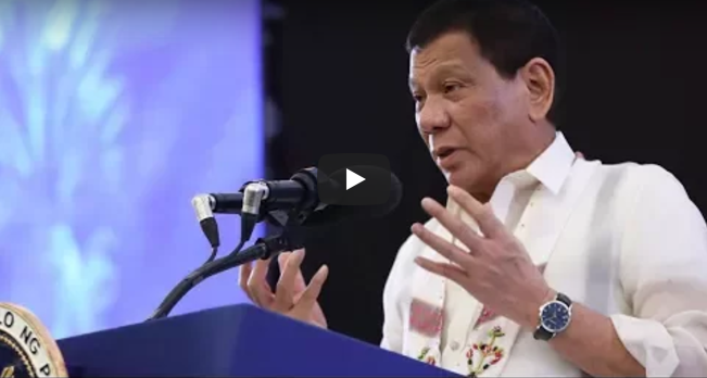 LIVE NOW: Mga Pasabog Speech ni Duterte