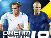 Dream League Soccer 2018 MOD APK + Data v4.08Unlimited Coins Terbaru