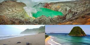 Paket Tour Banyuwangi 3 hari 2 malam ( kawah ijen - Pantai Sukamade - Pantai Pulau Merah )