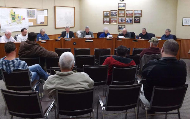 Metamora Village Board Meeting November 9, 2017, Metamora Herald