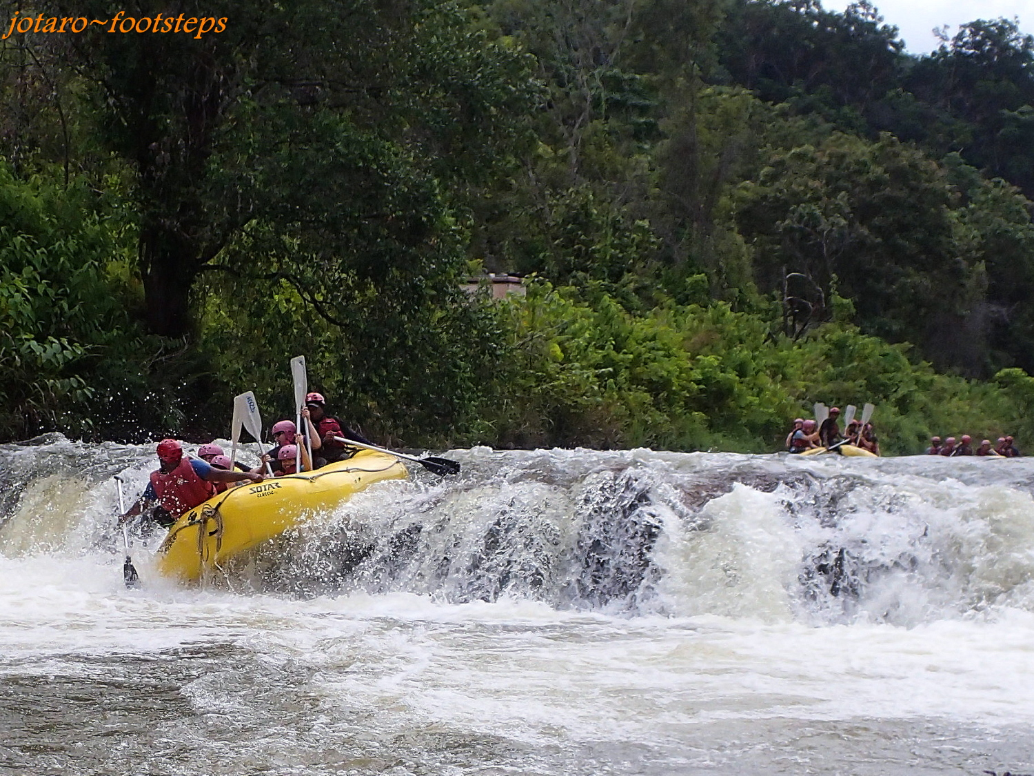 Footsteps - Jotaro's Travels: Malaysia 2015: White Water Rafting At