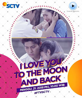 nama pemain FTV I Love You to the Moon and Back