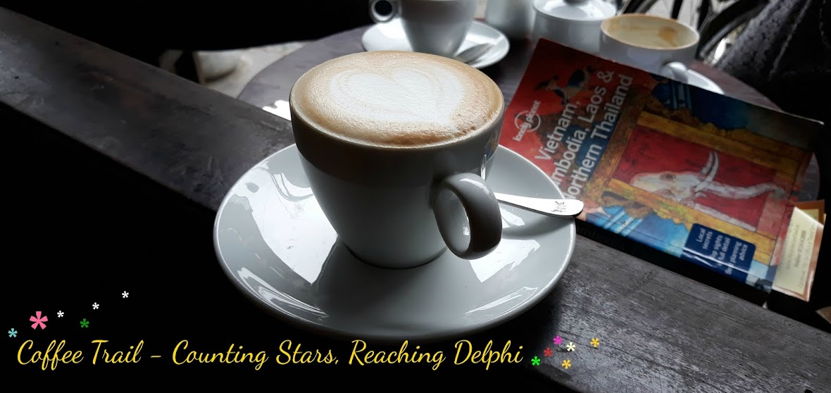 Coffee Trail - Counting Stars, Reaching Delphi .✫*゚・゚。.★.*。・゚✫*.