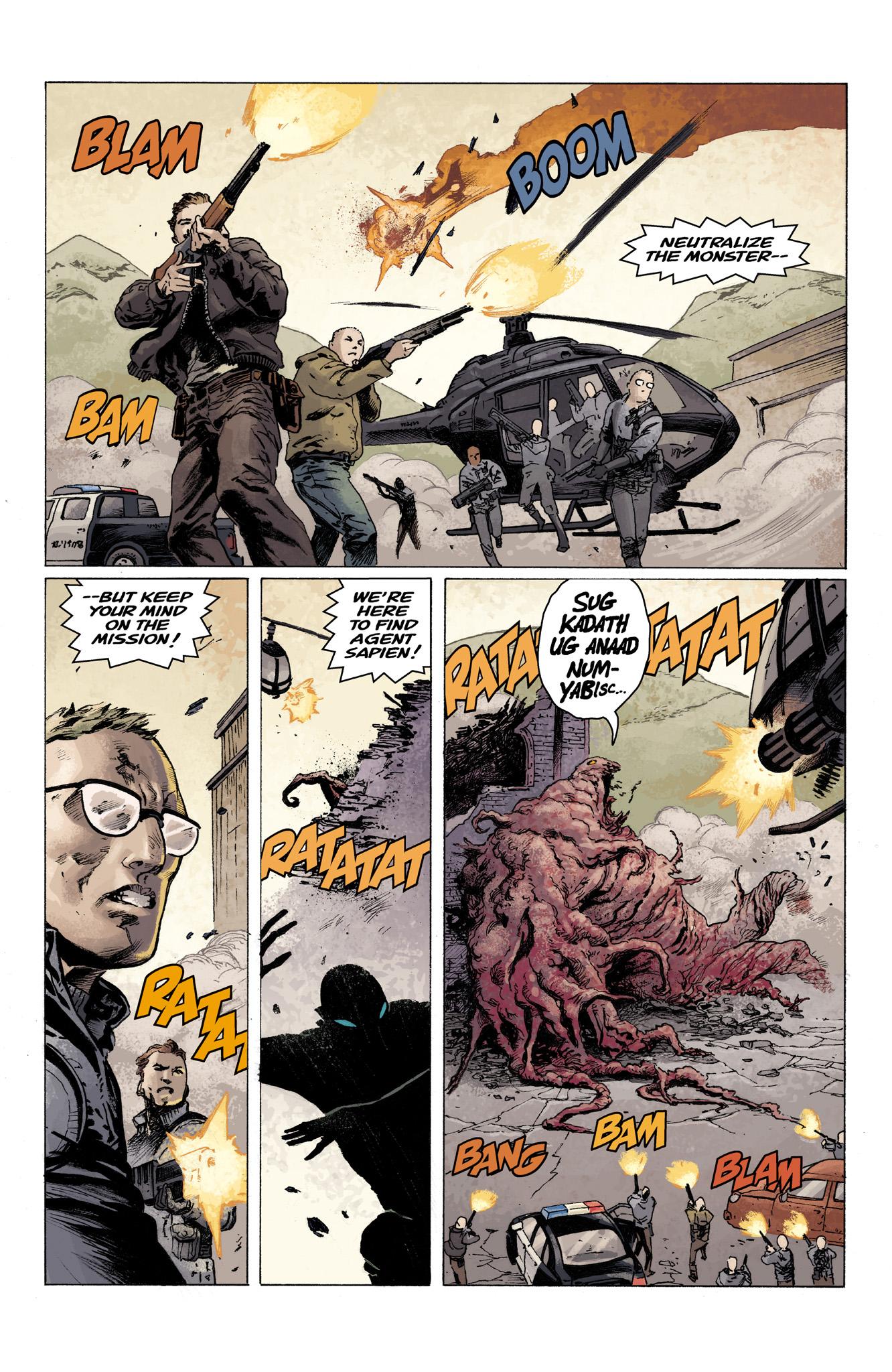 Read online Abe Sapien comic -  Issue #3 - 19