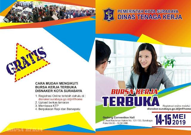 Bursa Kerja DISNAKER Kota Suarabaya