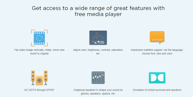 Elmedia Player Free Version Features