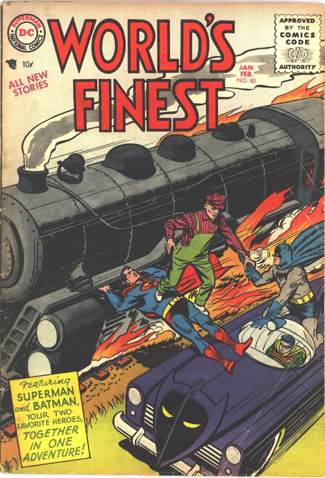 Read online World's Finest Comics comic -  Issue #80 - 1