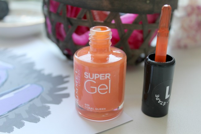 Rimmel summer gel nail polishes*. Nourish ME: www.nourishmeblog.co.uk