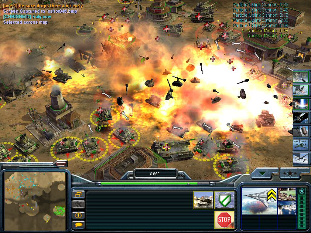 Command Conquer Generals Zero Hour Gameplay