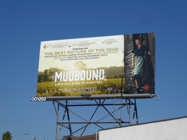 Mudbound FYC billboard