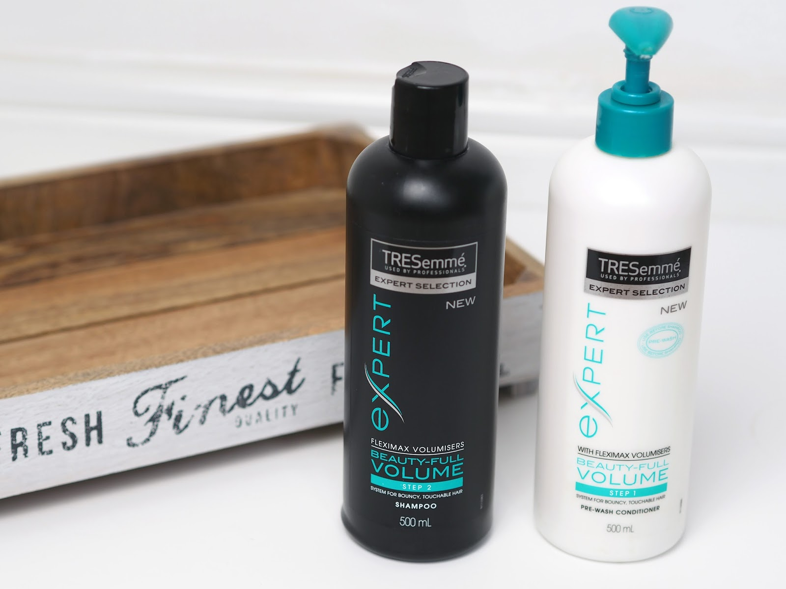 Review of the new Tresemme Beauty-Full Volume reverse wash system