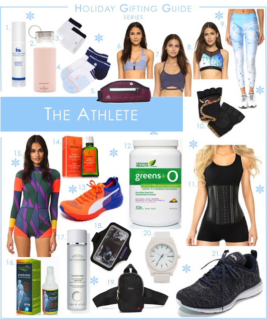 Holiday Gifting Guide: The Athlete