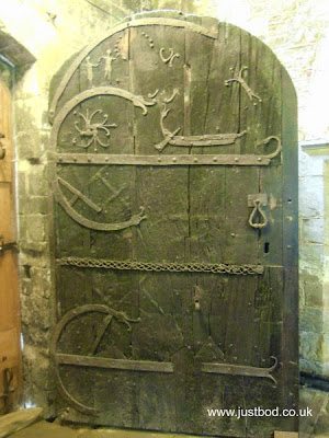 Original door St Helens Church Stillingfleet