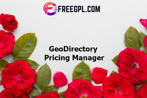 GeoDirectory Pricing Manager Add-on Nulled Download Free