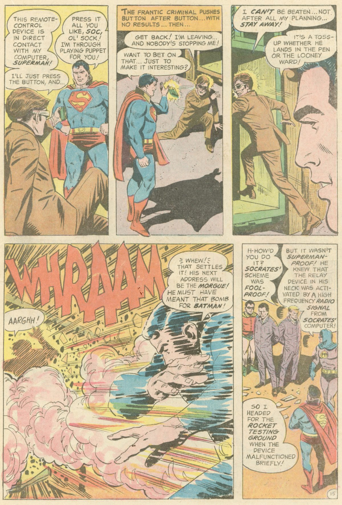 Read online World's Finest Comics comic -  Issue #180 - 19