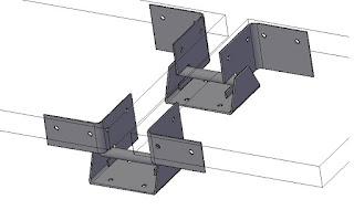 Салазка стационарная для алюминиевых композитных панелей AISI-430