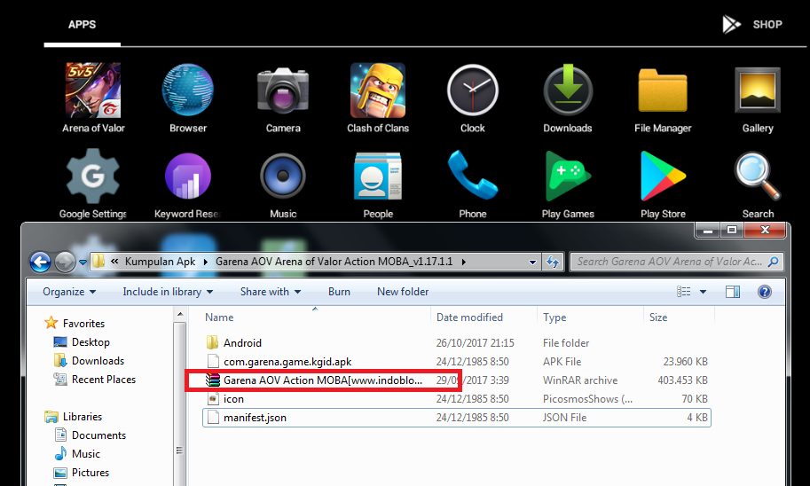 Download Game Aov Di Pc