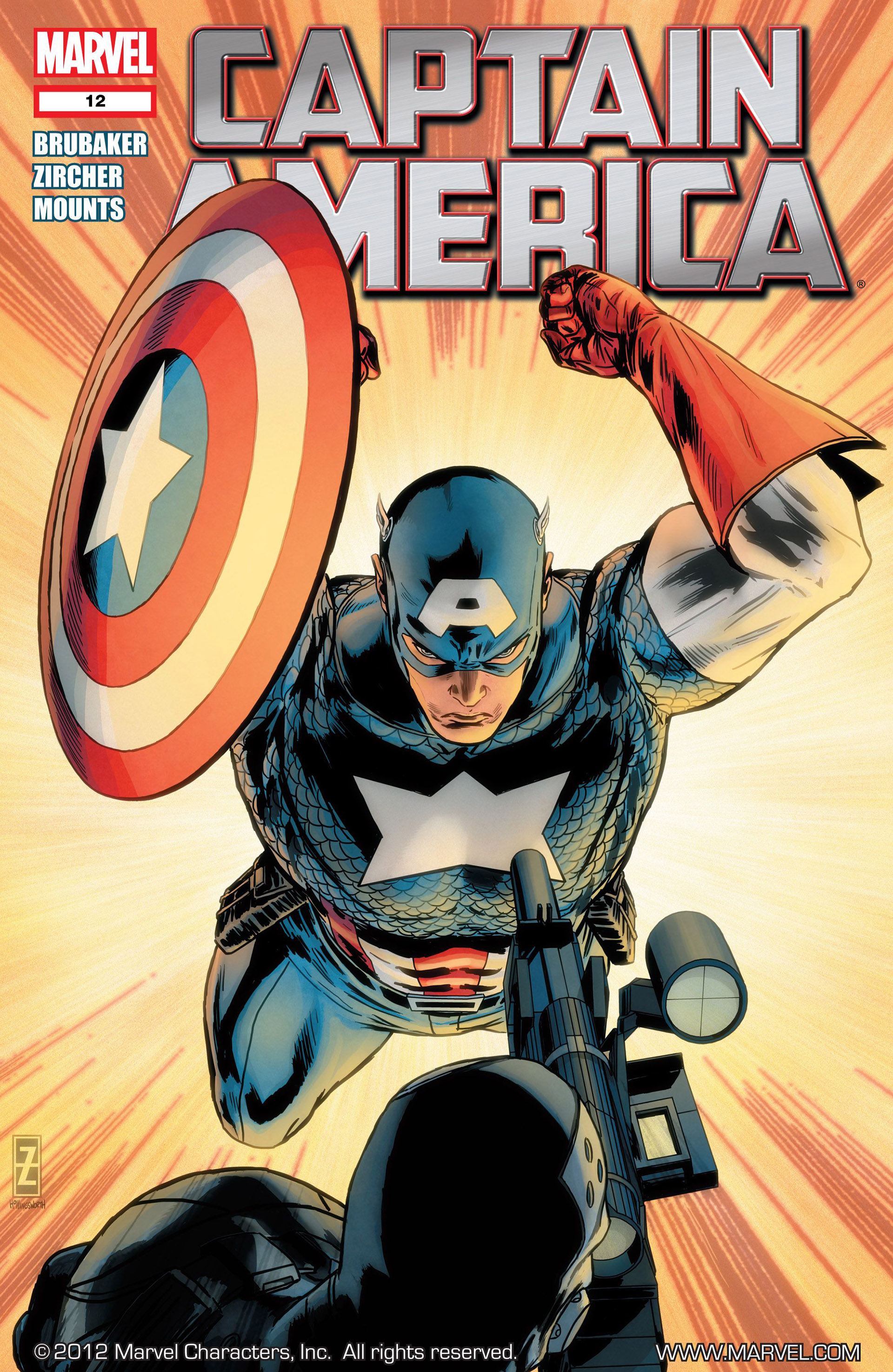 Captain America (2011) 12 Page 1