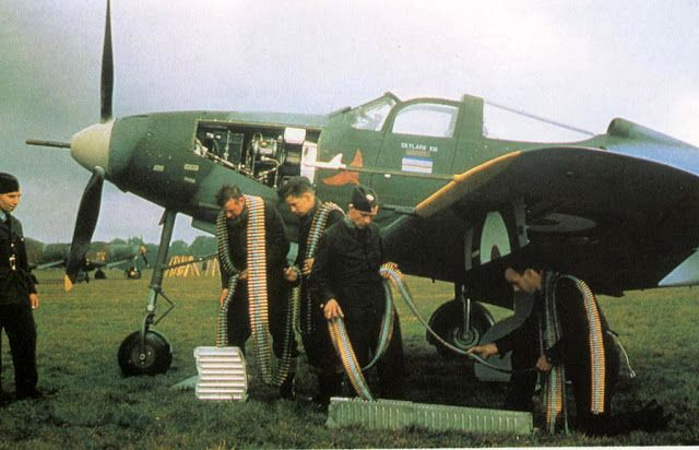 Bell Aircobra of RAF No. 601 Squadron, 21 August 1941 worldwartwo.filminspector.com