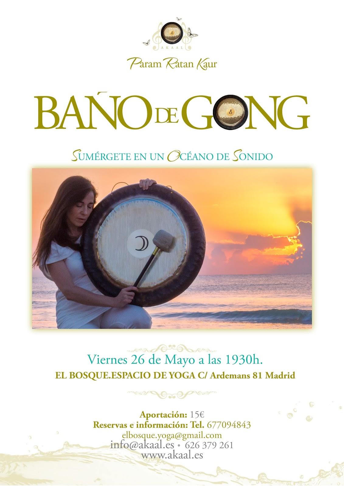 yoga gong madrid