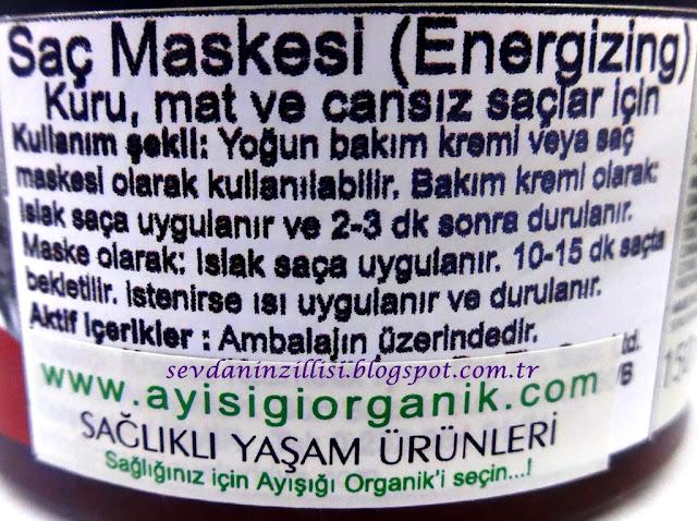 organique-natural-energizing-yogun-sac-maskesi