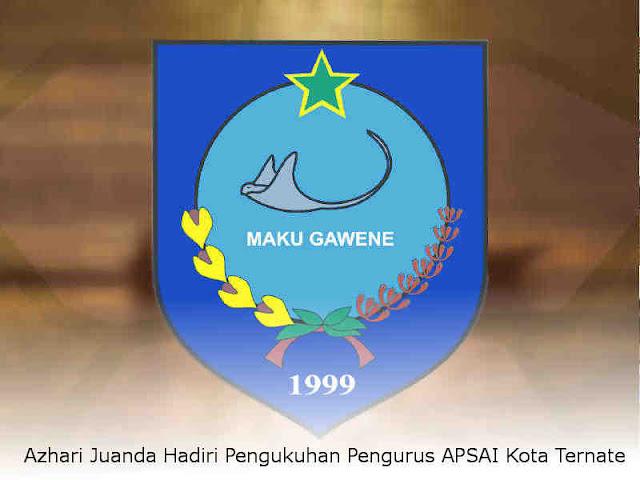 Azhari Juanda Hadiri Pengukuhan Pengurus APSAI Kota Ternate