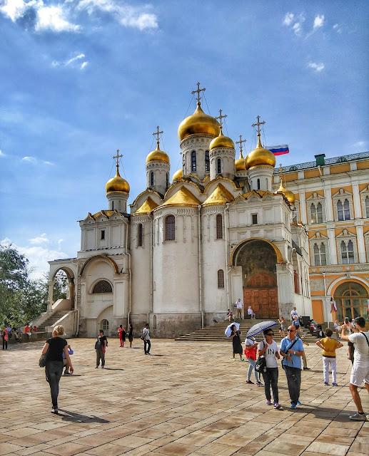 Catedral Anuncacion Moscu Rusia