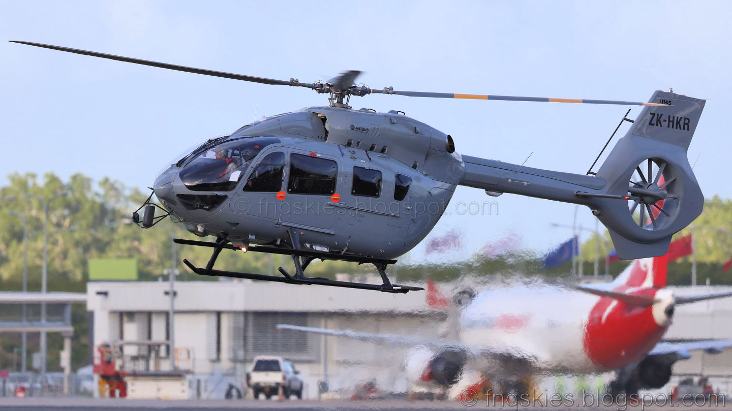 Far North Queensland Skies Pacific Helicopters Ltd PNG Airbus Helicopters
