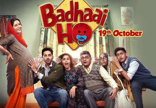 Ayushmann Khurrana film Badhaai Ho is Highest Grossing Bollywood Movies of 2018
