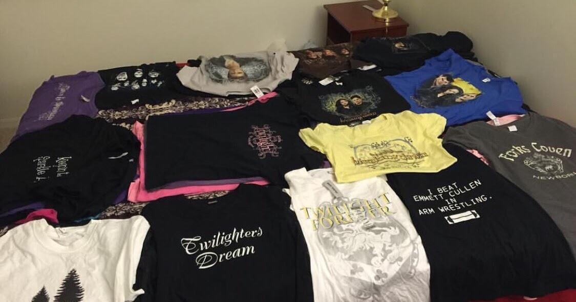 bca8f6a6d7e Twilighters Dream  Twilight T-shirt Quilt