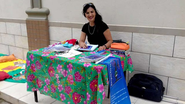 A escritora Gesia Sales vai lançar o livro 'Barriguda – Raiz em Flor' na próxima sexta (Foto: Divulgação)