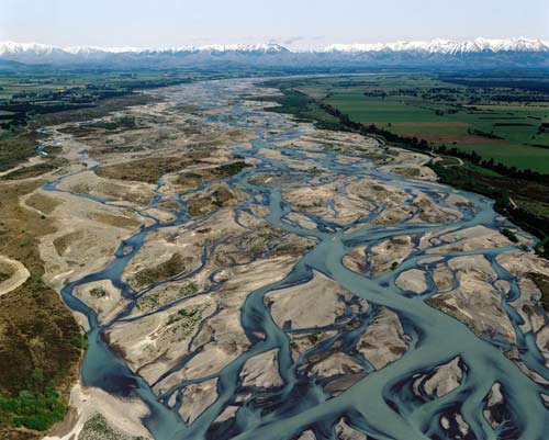 Landforms in the World: Fluvial Landform ( 07.Braided ...