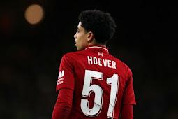 Ki-Jana Hoever Berpeluang Debut di Liga Inggris Bersama Liverpool