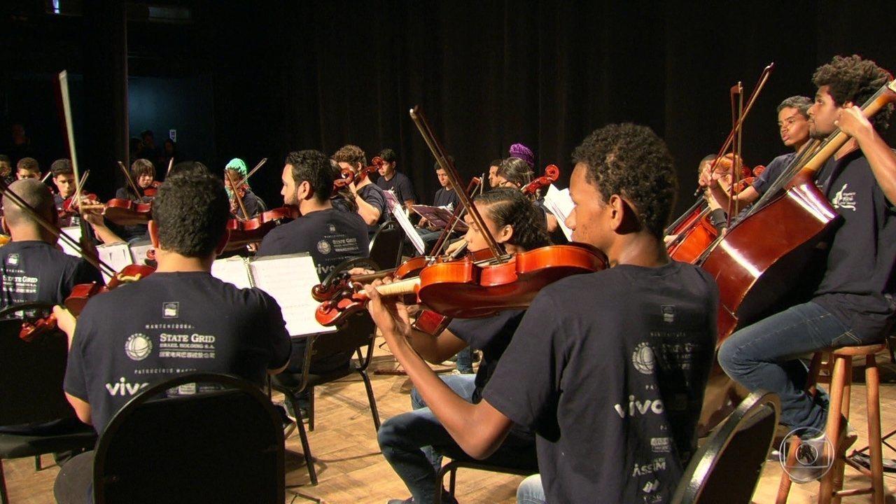 Orquestra de jovens