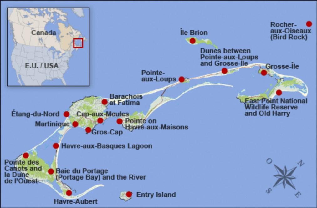 Iles De La Madeleine Map Iles De La Madeleine Map | compressportnederland Iles De La Madeleine Map