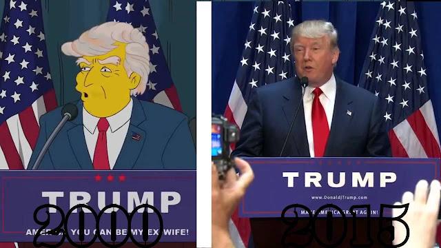"""هل تنبأ مسلسل """"ذا سيمبسونز"""" حقًّا بفوز """"دونالد ترامب"""""""