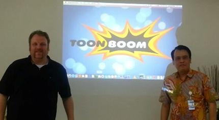 Aplikasi Animasi 2D Toon Boom dari Amerika siap gandeng Anak SMK
