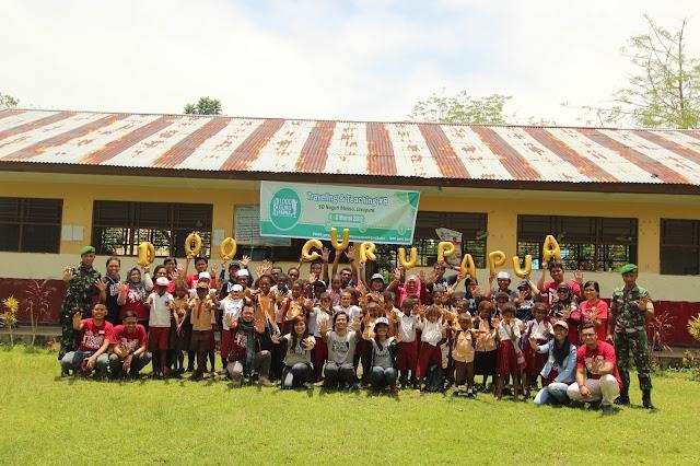 Potret Pendidikan di Perbatasan RI-PNG, TnT #8 1000guru_Papua