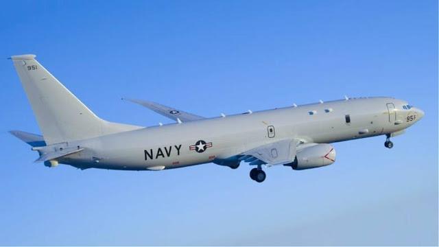 Αμερικανικό κατασκοπευτικό αεροσκάφος πάνω από τη Μαύρη Θάλασσα