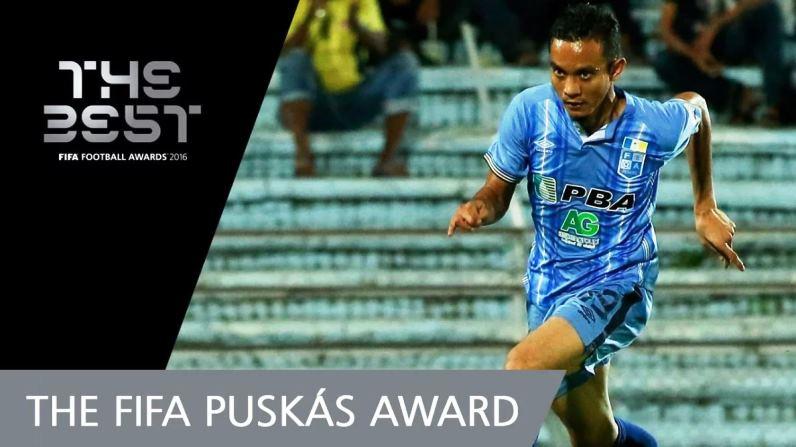 Jom Undi Faiz Subri untuk FIFA Puskas Award