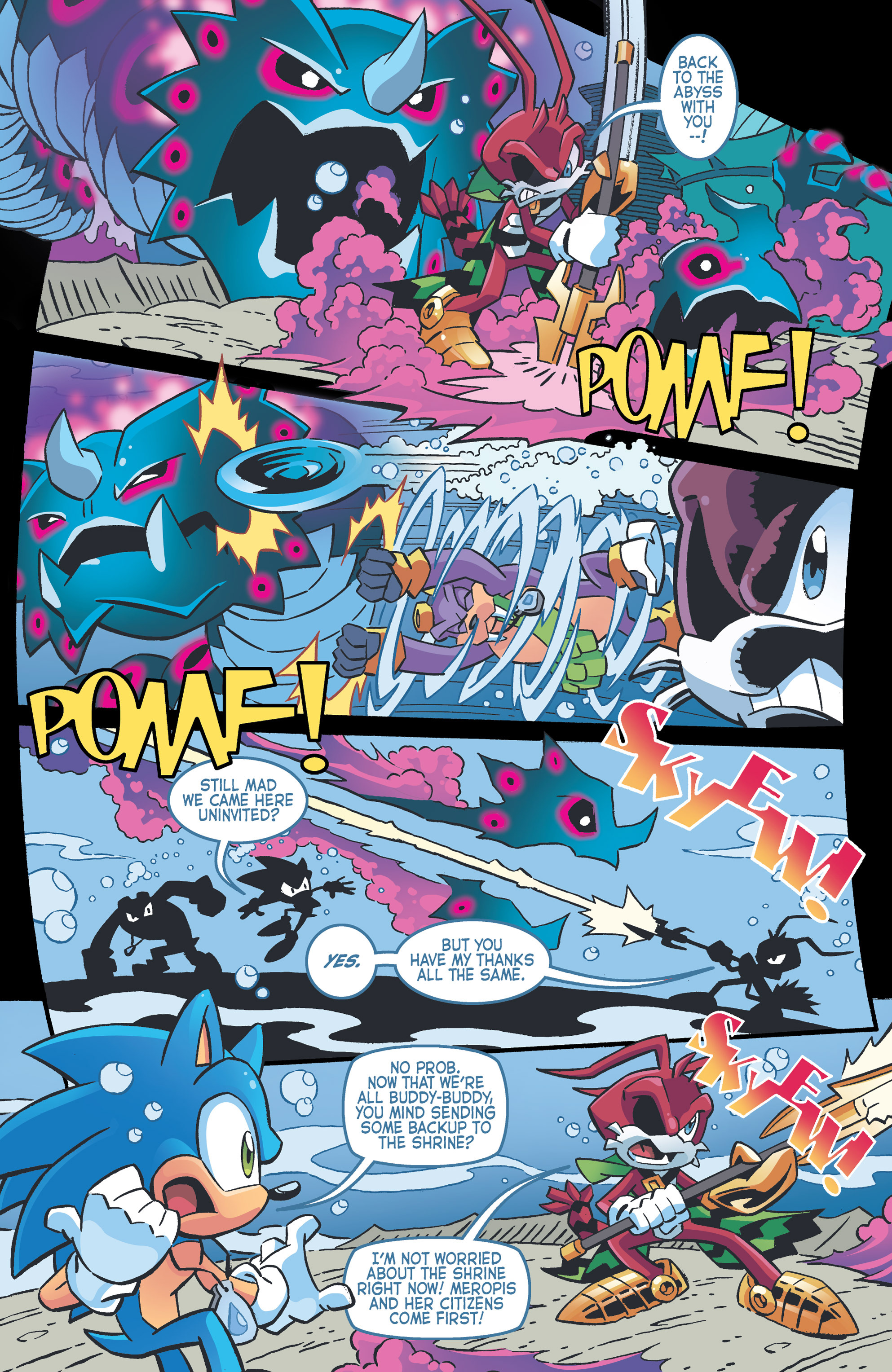 Read online Sonic The Hedgehog comic -  Issue #262 - 7