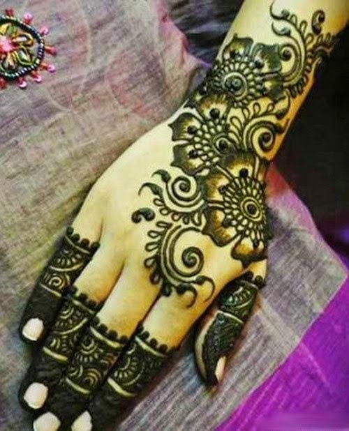 Ben noto Designs of Mehndi 2014 for Eid On Foot Simple Dresses on Hands on  EE13