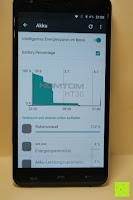 "Energiesparmodus: HOMTOM HT30 3G Smartphone 5.5""Android 6.0 MT6580 Quad Core 1.3GHz Mobile Phone 1GB RAM 8GB ROM Smart Gestures Wake Gestures Dual SIM OTA GPS WIFI,Weiß"